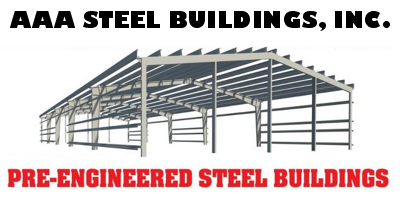 AAA Steel Buildings, Inc. Logo